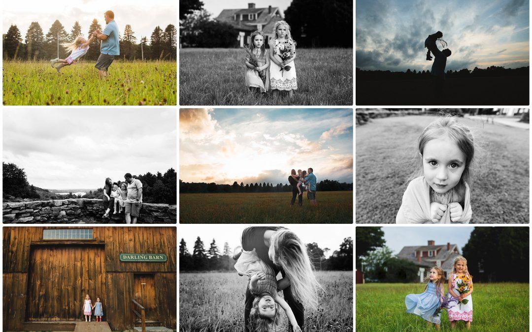 Family Portraits through the Years    Massachusetts Family Photographer