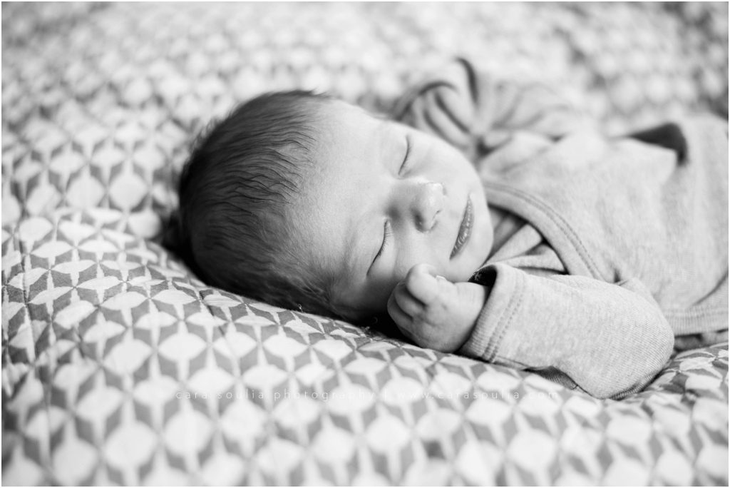 Back Bay Newborn Session Cara Soulia Photography