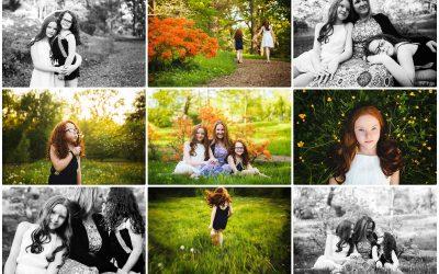 Mom And Her Girls | Massachusetts Family Photographer