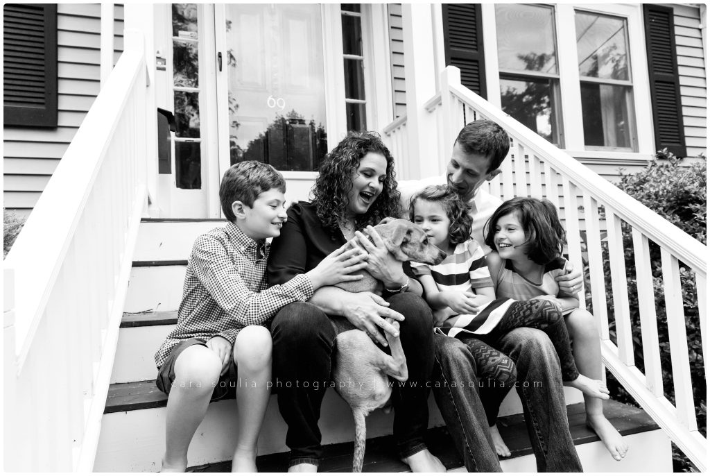 Needham Family Session Cara Soulia Photography