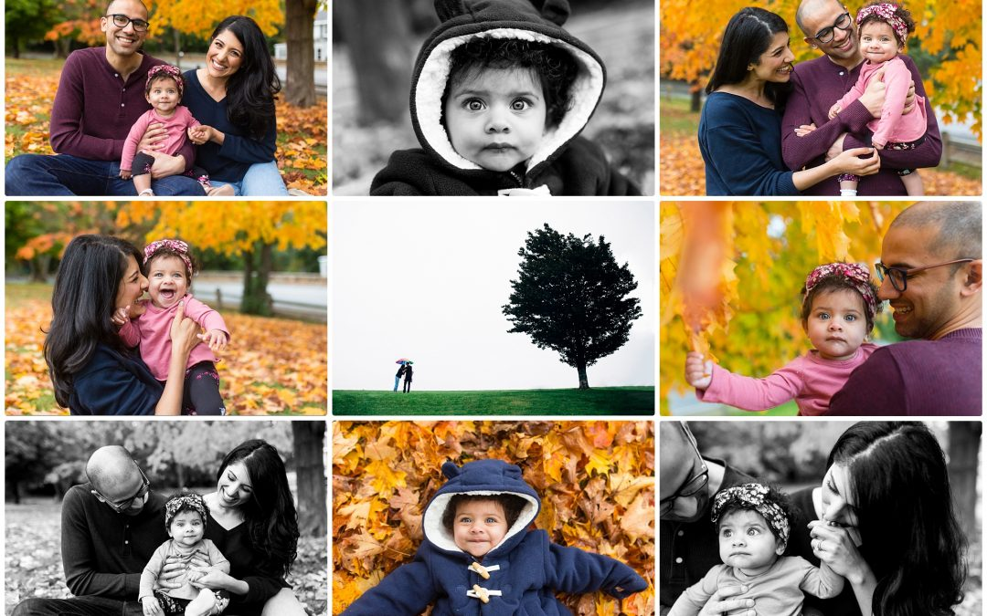 Sweet Saachi & Family, Needham Family Photo Session