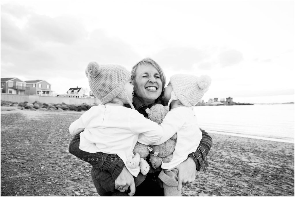 Boston Beachside Family Portrait Session Cara Soulia Photography