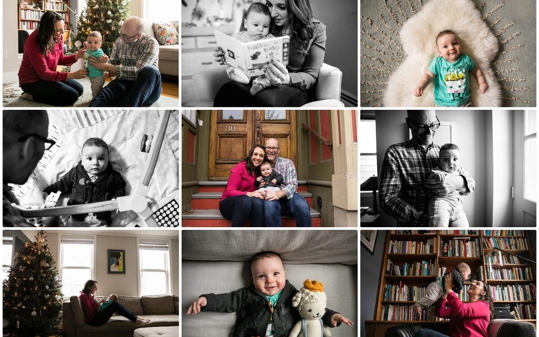 Family of 3 in Charlestown – Boston Baby Shoot