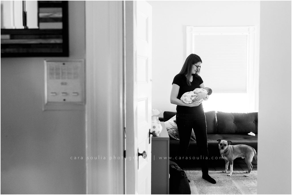 Brookline Newborn Session Cara Soulia Photography