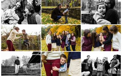Extended Family Session – Needham Family Photography