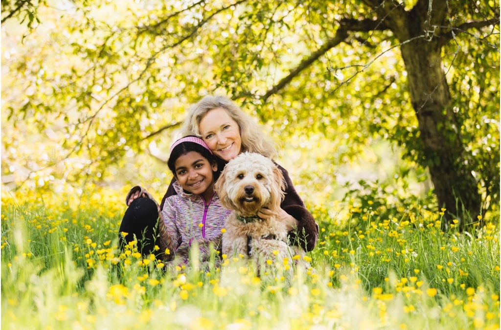 Springtime Mother & Daughter Family Portraits | Boston Family Photographer