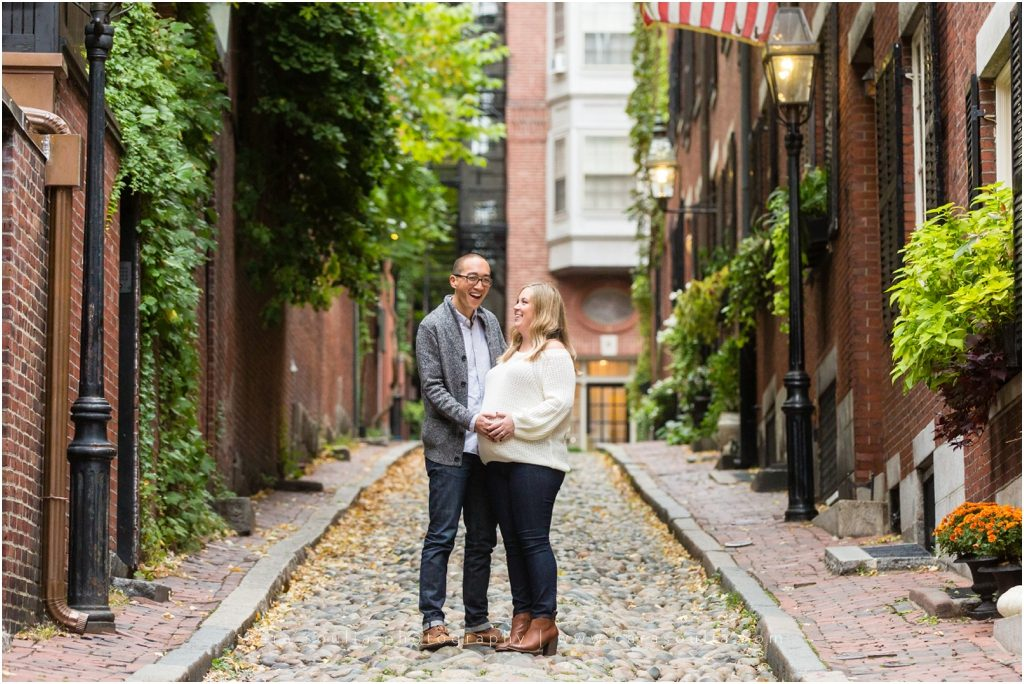The Boston Public Garden Maternity Session Cara Soulia Photography