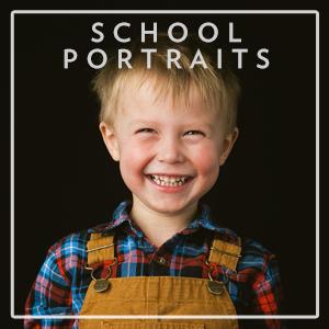 Unique and beautiful school portrait at boston preschool