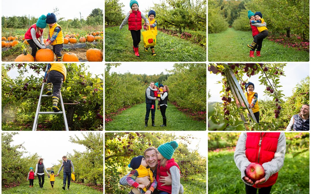 Apples + Pumpkins + Donuts = Smiles Galore! | Boston Fall Photo Session