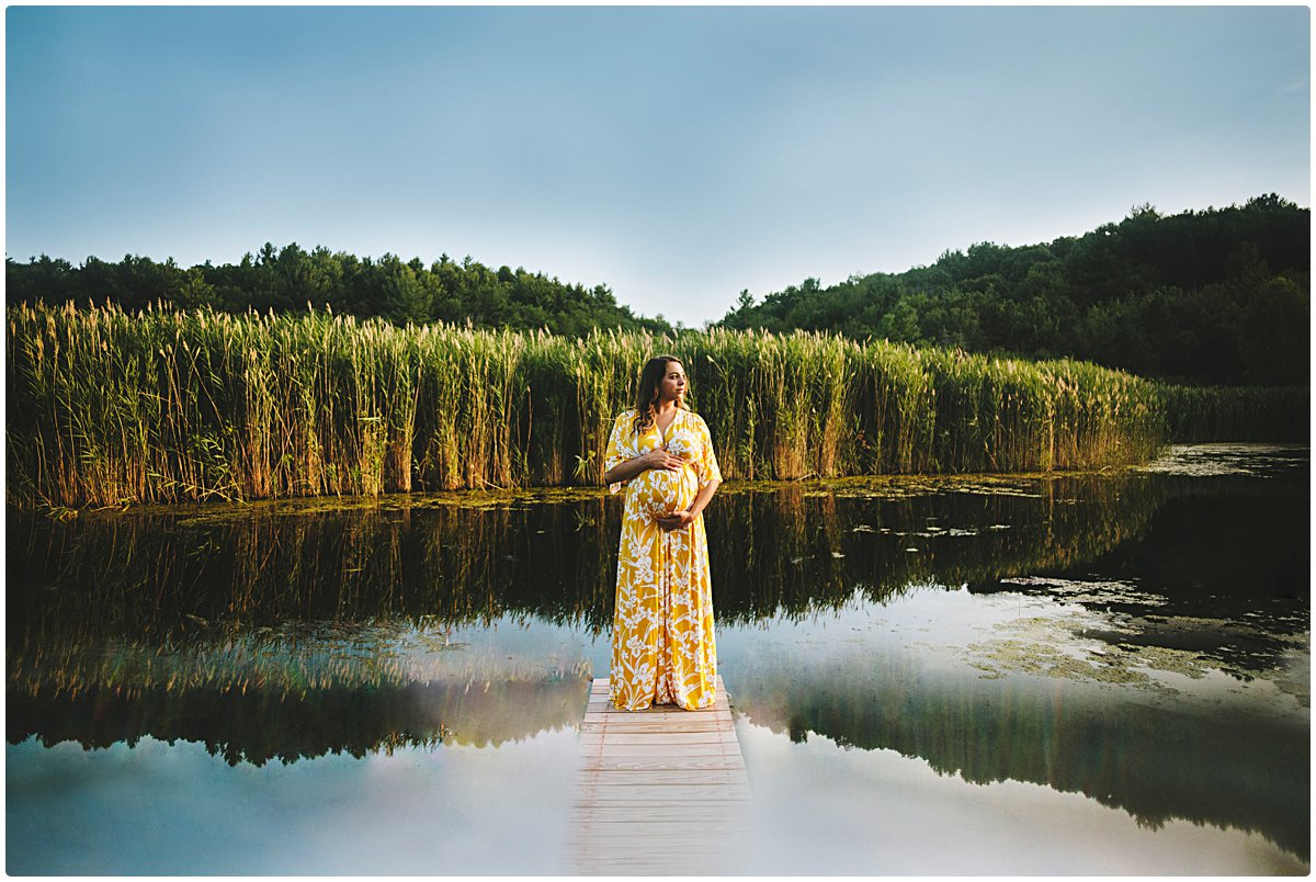 Gorgeous Unique Maternity Portraits Massachusetts