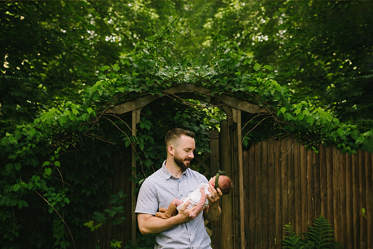 Boston Outdoor Newborn Photography