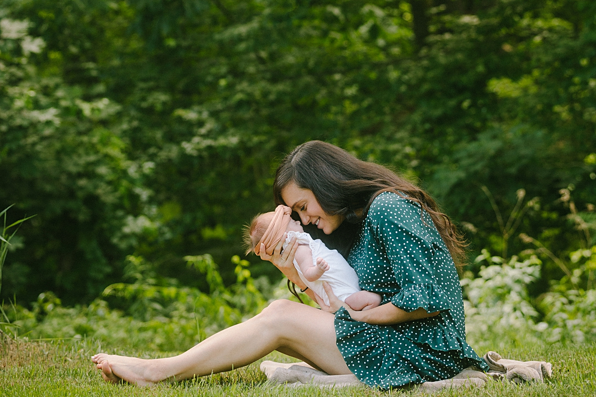 Boston Outdoor Newborn Photography
