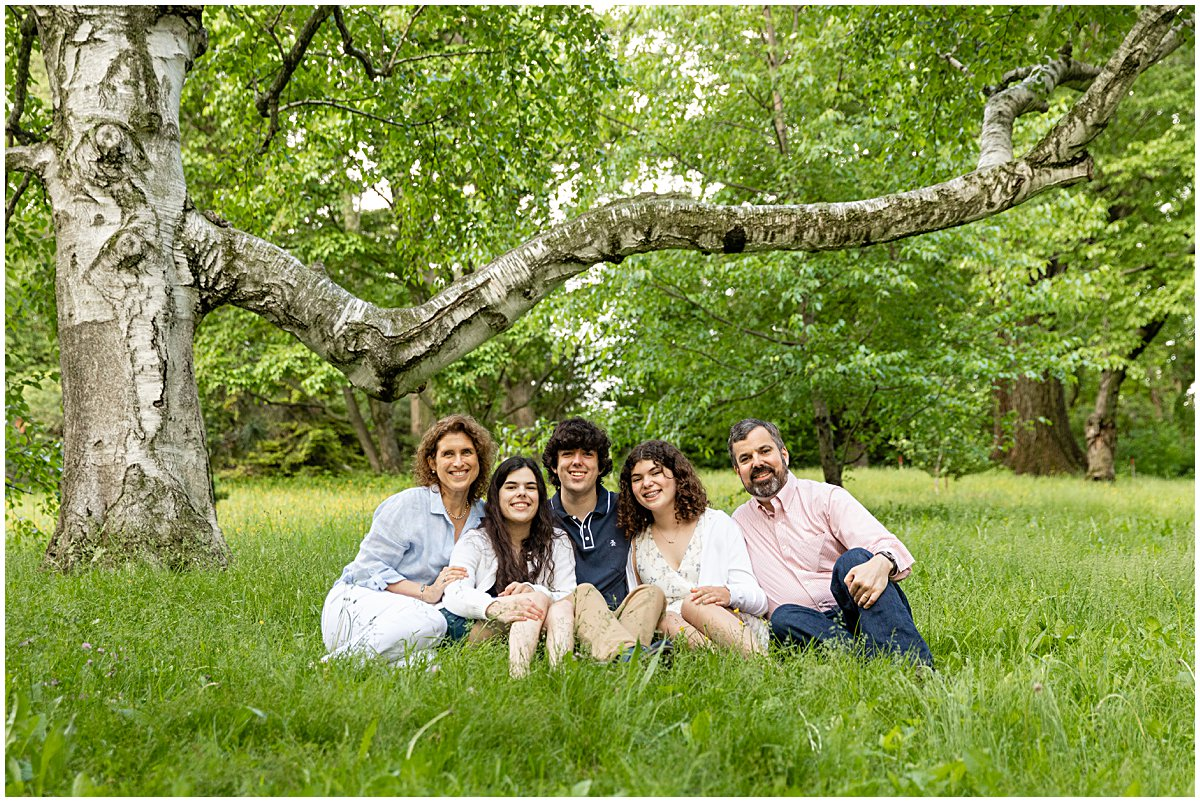 family together photo session boston