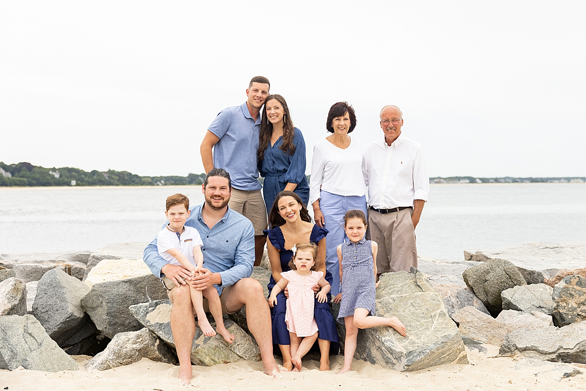 boston family photographer cara soulia summer family reunion photo session