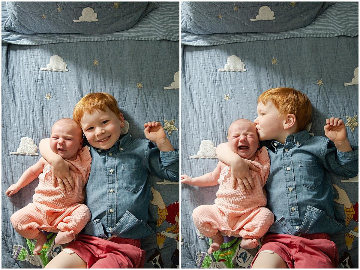 siblings in wellesley photo session